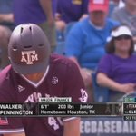 WALKER PENNINGTON!! Pinch-hit HR puts @Aggie_Baseball up 10-8 with a spot in the SEC Tournament Final on the line! https://t.co/ABmbICaaub