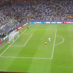 Video: Cristiano final penalty from the stands in San Siro https://t.co/yiK2ODCNGQ