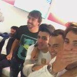 VIDEO: @alo_oficial and @carlosainz ON FIRE celebrates @realmadrid s victory #F1 #MonacoGp https://t.co/OqdsCOfOrB