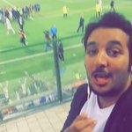 مازن الهدابي @MazenAlhddabi  من الملعب مباشرة #ريال_مدريد_اتليتكو_مدريد  تغطية برعاية @joodtrv https://t.co/HOyJE4Ysrs
