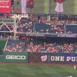 Nuestra embajada en Washington pone a flotar la bandera dominicana en el estadio de los nacionales de Washington. https://t.co/CnF02tKzBE