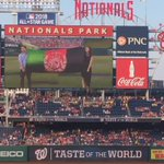 Today at the @nationals baseball in Washington, millions heard & saw the flag of a proud #AFG. #sportsDiplomacy https://t.co/N6VAgzd34E