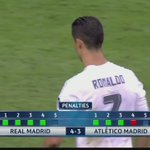 It could only be one man... Ronaldo scoring the winning penalty for Real Madrid in the #UCLFinal https://t.co/GsQkWlKENV