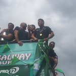 Connachts victory march through Galway #fieldsofathenry https://t.co/BulZVDbYCu