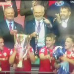 Captain Fantastic! Watch @ConorHourihane lift the cup at Wembley as @bfc_official are promoted to the Championship https://t.co/60MZjOlEtU