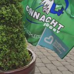 """My home today: who said """"blue and green should never be seen""""? #winningteam ????@connachtrugby @galway2020 #connachtabu https://t.co/fBihDF6CNE"""