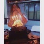 #HappyHYOMINday cr. Hyomins friend byuri 🎂😄 https://t.co/rBcImw80yM