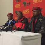 CIC @Julius_S_Malema explains that #EFFManifesto is a Peoples Manifesto #EFFListConference https://t.co/46KXOeqy6p