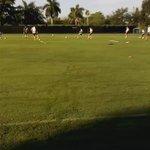 En paralelo los defensores y volantes defensivos realizan trabajos de anticipación #Vinotinto #Gira #Copa100 https://t.co/3UuEwtAYb0