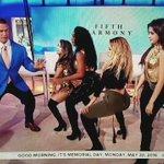 Fifth Harmony teaching @JohnCena how to booty pop! #5HTODAY (via @BAHjournalist) https://t.co/oIJCAhki2t