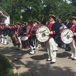 What a presentation from the El Riad Drum Corp! @KDLTNews #MemorialDay2016 #HappyMemorialDay https://t.co/a2FtHRLjyO