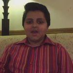MNA Talal Chaudhrys son wishing Prime Minister Muhammad Nawaz Sharif good health and quick recovery. https://t.co/8PmuUwuGmp