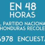 En 48 horas el #PNH recolecta 129,834 encuestas a nivel nacional. #ConsultaPopularPNH @juandiegozelaya @glalocal https://t.co/t6DPK6qrK2