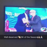 Congratulations to #DennisOnyango for winning GK of the Season for 2015/16???????????????????????????????? #PSLAwards https://t.co/TBYcbdH7RM