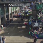 This was the Connacht team bus arriving into Murrayfield last Saturday https://t.co/broZeVWSYT
