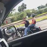 This just happened in Tampa, FL during rush hour https://t.co/Yq6QCip7y3