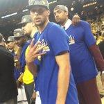 How many, Steph? #NBAFinals https://t.co/WppKJOmo5s