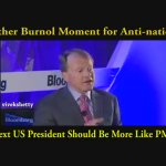 Watch !! Another Burnol Moment for Anti-nationals The Next US President should be more like PM Narendra Modi https://t.co/j6wCM6NbAM
