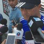 #VIDEO El profesor Alfredo Arias brindó declaraciones a la prensa, previo al entrenamiento de hoy en Samanes https://t.co/H87po3tkzH