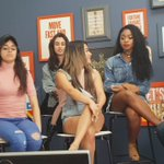 Going over what every member of @FifthHarmony is afraid of! #ScaredofHappy #Harmonizers https://t.co/lDOQeNVw7k