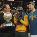 True honor and Blessing!! #WesternConferenceChamps #StrengthInNumbers #WeWantMore #NBAFinals @nba #RickBarry https://t.co/iqtimkgvaG