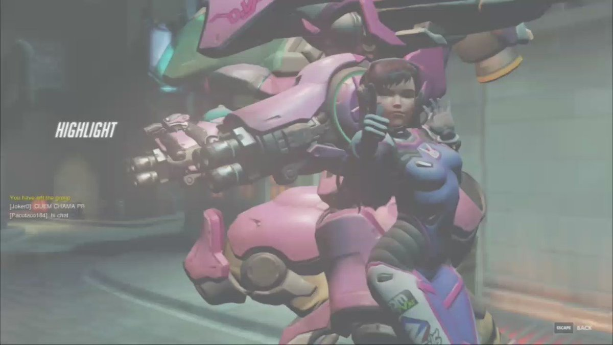 Not quite sure about your Play of the Game choice here, Blizzard... #Overwatch https://t.co/2wt6iUcS2H