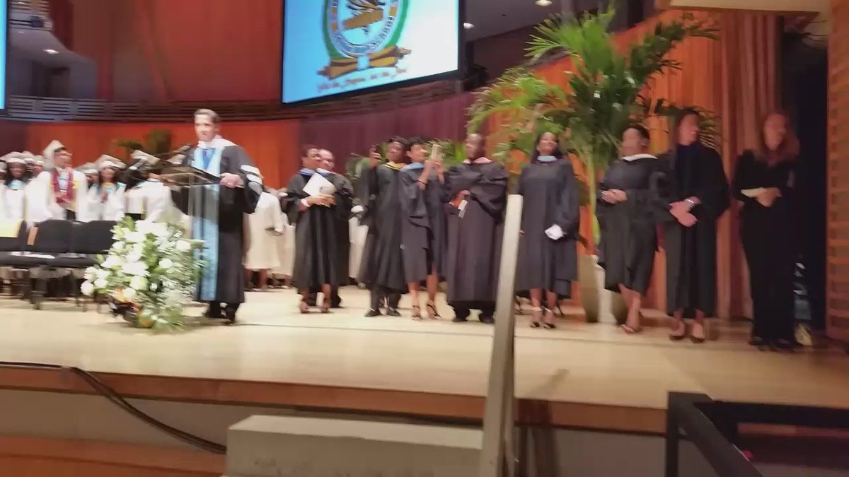 Watch this @BTW_SHS paraplegic student walk at his graduation. Dreams do come true at @MDCPS! #MDCPSGrad https://t.co/KZBTGPqCQE