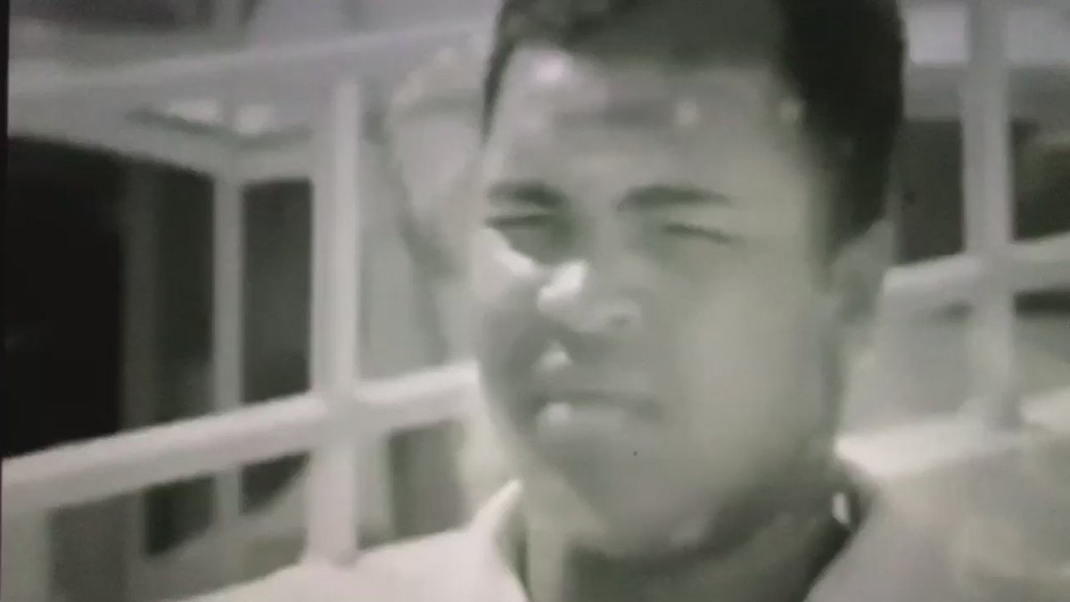 Muhammad Ali on not being concerned with what white people thought about him. https://t.co/YmCnlUxZTT
