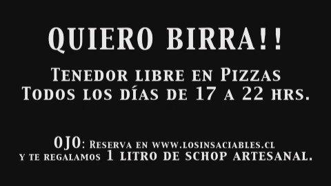 El Quiero Birra está que arde... reserva el tuyo de 17 a 23 hrs en https://t.co/RLeHWL3MwS https://t.co/eA76YHL4s4