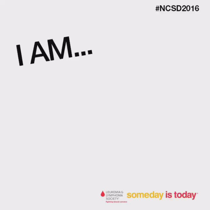 Share the strength of #survivorship this #NCSD2016! #SomedayisToday https://t.co/XoM7JMZ43D