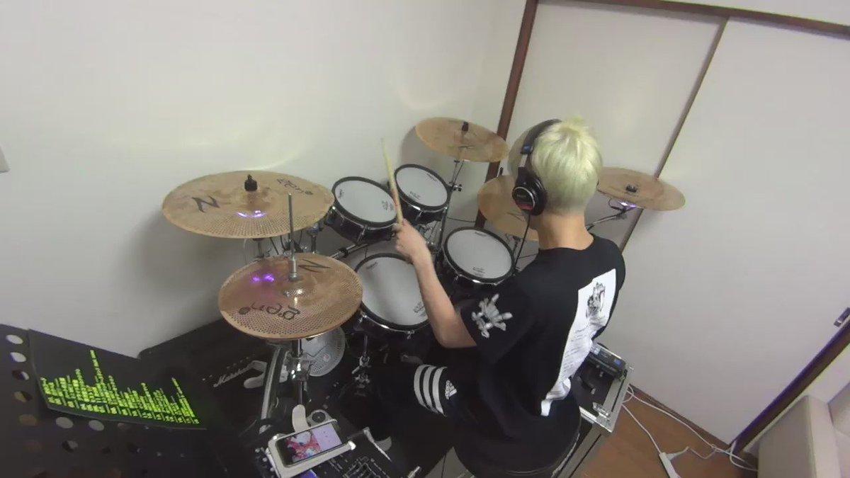 #一日一アツユキ【No.144】ヒストリア / CHiCO with HoneyWorksを叩いてみた!#drums #