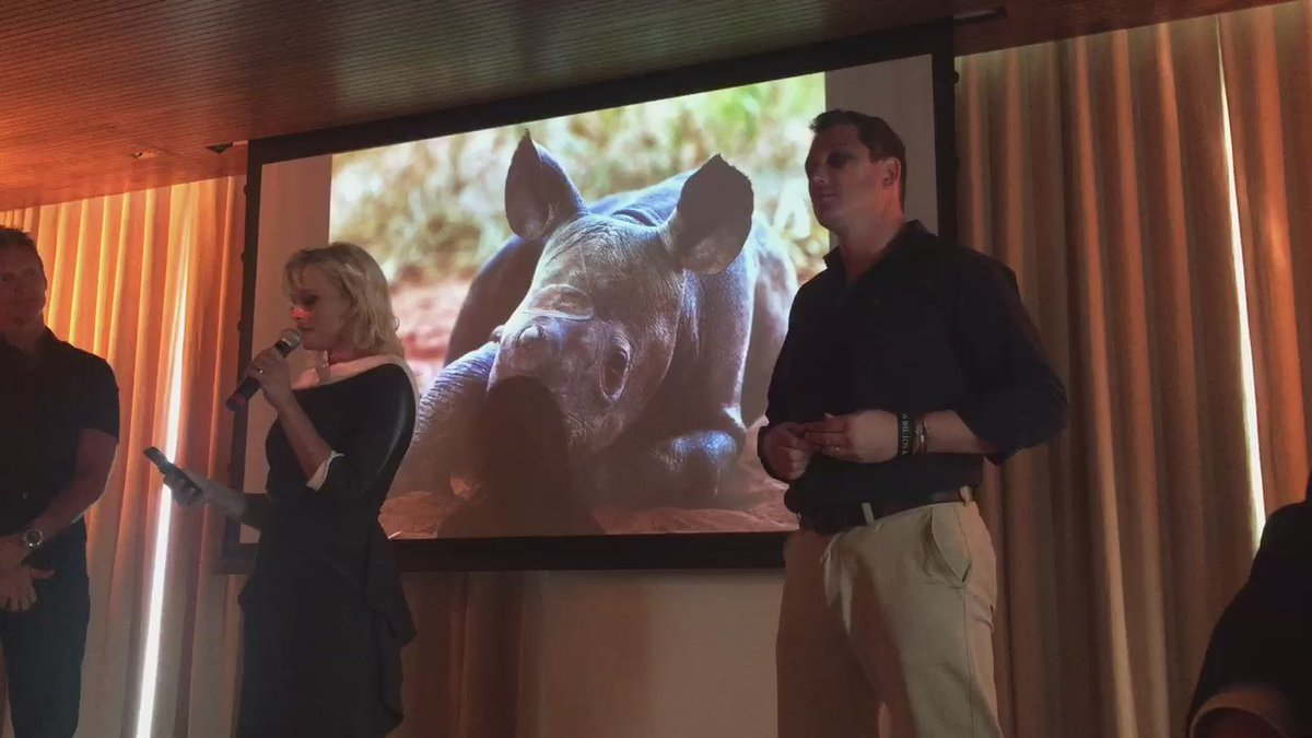 RT @OverAboveAfrica: @pamfoundation introduces @DamienMander of @IAPF as he reports on the rhino crisis in Africa #endpoachingnow #donate h…