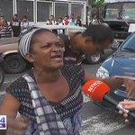 """""""NO QUEREMOS BOLSAS CLAP, QUE LLEGUE LA COMIDA A LOS MERCADOS"""" dice señora en Protesta #AraguaEsClap  https://t.co/BFpOdMg2VU"""