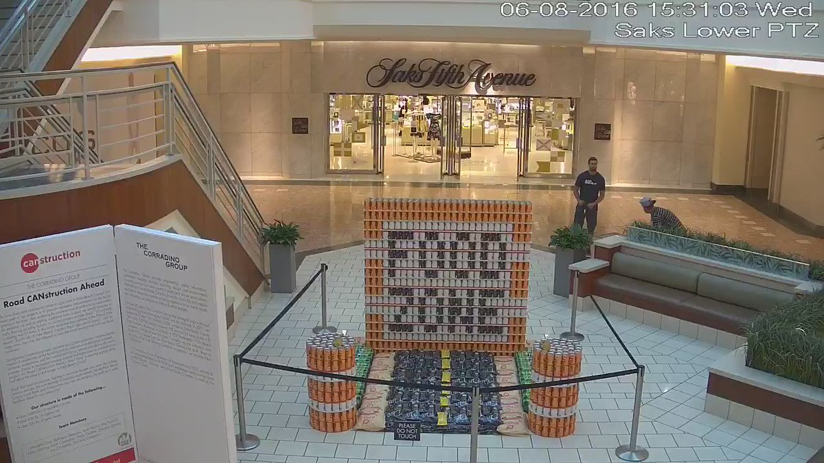 Please retweet & help us find the men who destroyed this charity exhibit for @FoodBankPBC https://t.co/85xnhaZtbG