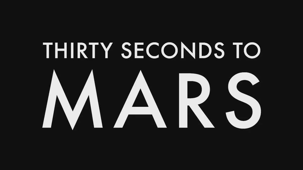 RT @30SECONDSTOMARS: Never before seen footage from the road: #Conquistador. | https://t.co/jK5uEUfPob #LoveLustFaithDreams https://t.co/hu…
