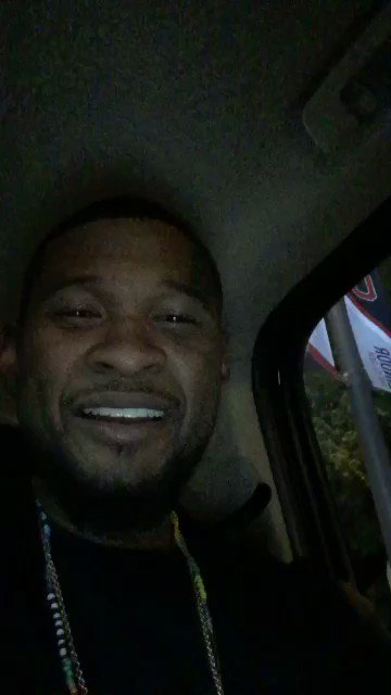 Usher snap hella funny. Every time he come to Cavs games they lose