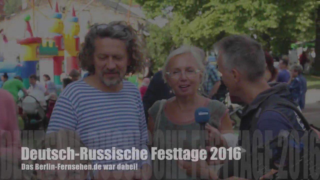 Deutsch-Russische Festtage 2016 Berlin Karlshorst - Noch bis zum 12.06.! @drfberlin @rus_haus #berlin-fernsehen.de https://t.co/OpUwpQnEe4