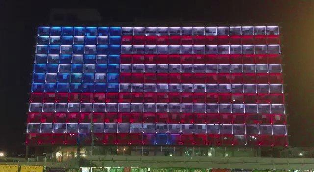 בניין עיריית ת״א, הערב https://t.co/vo5LaiDRMt
