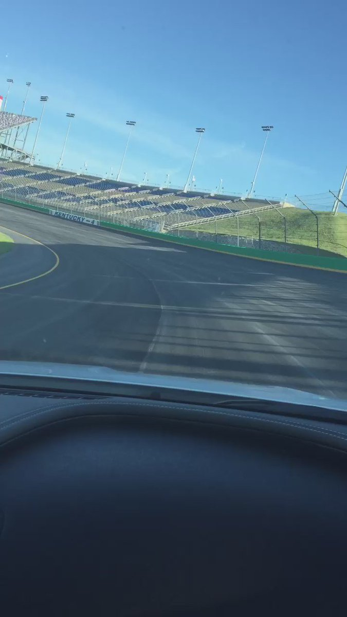 Kentucky new surface #Nascar https://t.co/8J1CC4wGV9