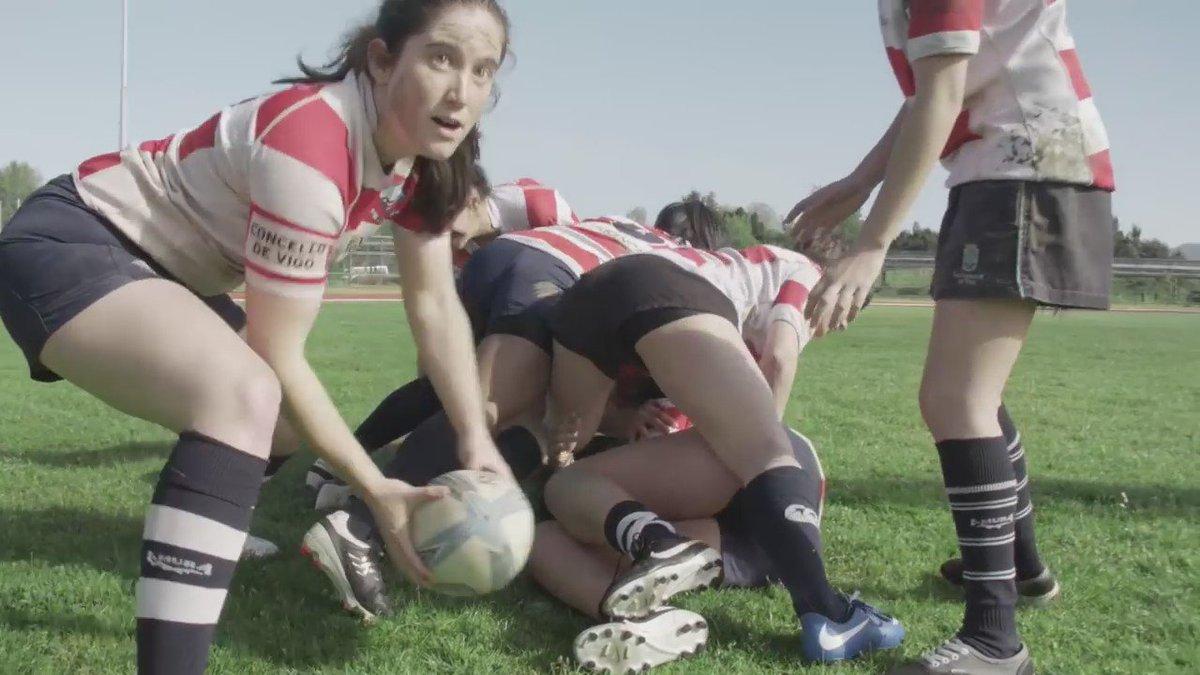 Aquí todo é posible con #actitudeuvigo.  Ana Rivas, estudante da Universidade de Vigo e xogadora de rugby. https://t.co/0bDGXlSvW1