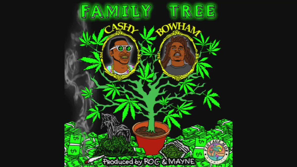 "50 RT's & I Will Drop  ""Family Tree"" Ft. @BowHamKam ( Produced By: @RocNMayne ) #VintageMOB https://t.co/icE5h7vgbG"