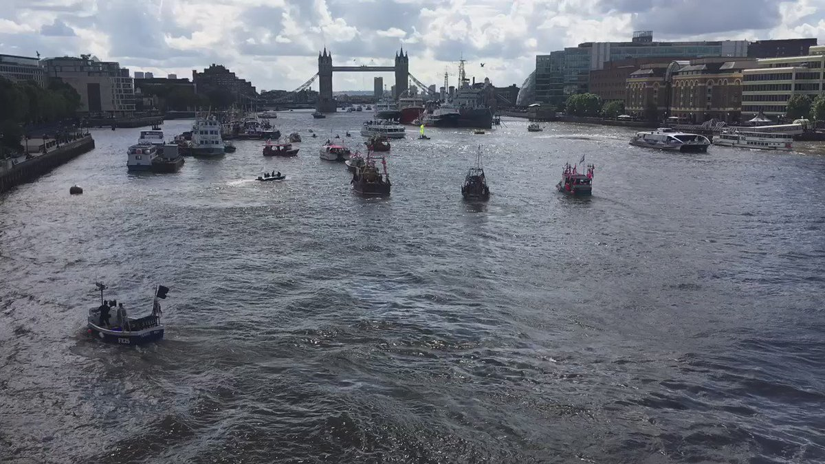 UPDATED WITH THEME TUNE: The state of British politics summed up in a clip of a flotilla face-off https://t.co/wK9PKylmJN