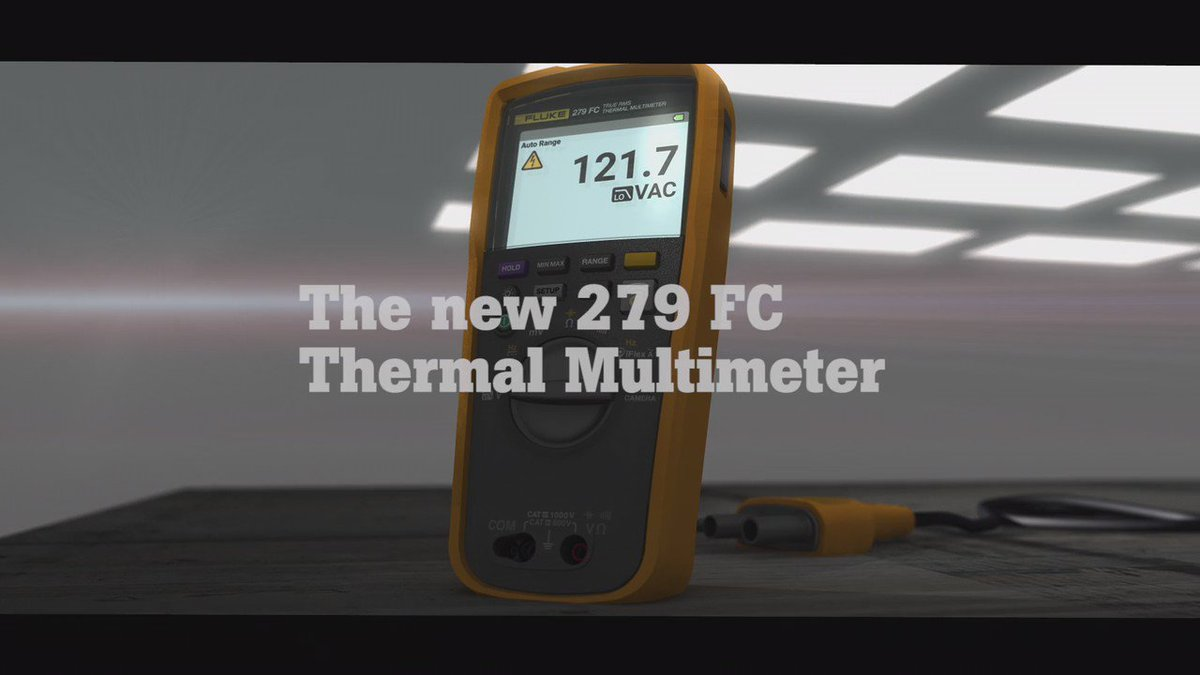 """""""The 279FC allows users to do additional troubleshooting and measurements that DMMs have never offered in the past."""" https://t.co/xX2iui9En3"""