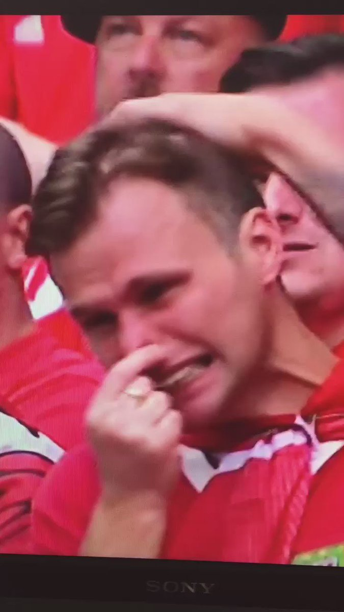 When you're a crying lad but realise you're on TV so have to be a brave lad #ENGWAL https://t.co/8vYvpMSbIH
