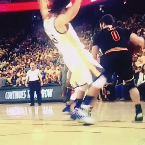 Watch this forever. #NBAFinals https://t.co/lulzyoj3dY