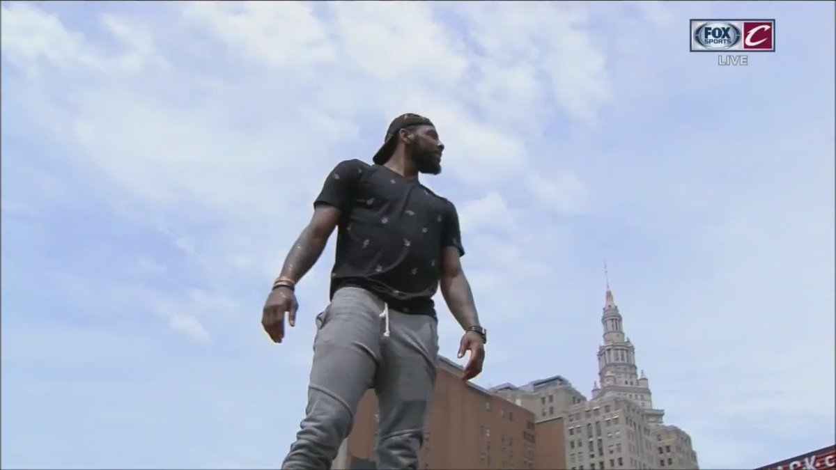Kyrie Irving is King of the world right now. https://t.co/CBFCg30U6E