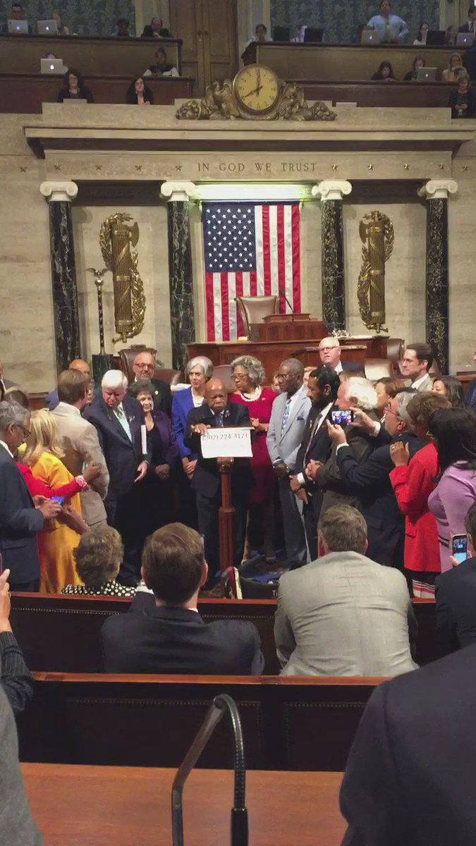 'Sometime by sitting down you're standing up.' Our spiritual, political leader tonight. #nobillnobreak #mepolitics https://t.co/PYhFiTaa8a