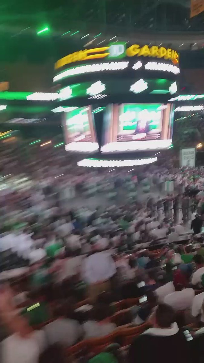 Jaylen Brown, crowd doesn't love it https://t.co/qR5E6WrffN