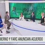 @MafeCarrascal : ¿Nos tocará hacer un proceso de paz con @NoticiasRCN ? Excelente @CLOPEZanalista #AdiosALaGuerra https://t.co/SwTaCMnvWa