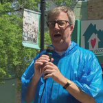 """""""Im a rookie at getting a pie in the face,"""" @JimWatsonOttawa says at fundraiser #Ottawa #ottnews https://t.co/4bsrL6tUvI"""
